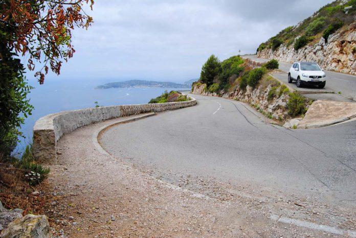 Carreteras de película a través de Mónaco